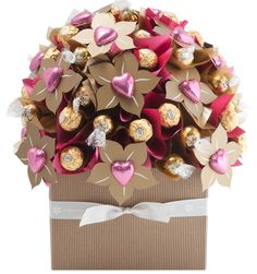The Blush is back! Just in time for Mother's Day, our Blush Chocolate Bouquet boasts 60 chocolates and comes in at $109.00