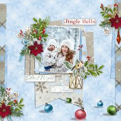 Page by Atusia using Template from GS January Monthly Mix