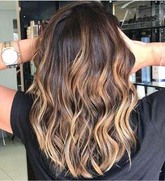 Highlights For Dark Brown Hair, Dark Hair, Blonde Hair, Belle Hairstyle, Cabello Hair, Birthday Hair, Hair Color And Cut, Long Bob Hairstyles, Stylish Hair