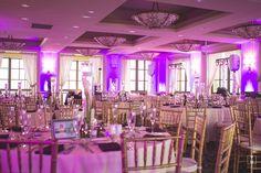 Purple Wedding Lights- Portofino Hotel- SoCal Wedding