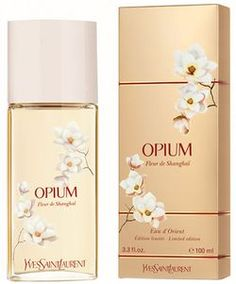 Opium Fleur de Shanghai by Yves Saint Laurent is a Oriental Floral fragrance for women. Opium Fleur de Shanghai was launched in Top notes are oran. Perfume Scents, Cosmetics & Perfume, Best Perfume, Fragrance Parfum, Perfume Bottles, Yves Saint Laurent, Perfume Collection, Beauty Tips, Packaging