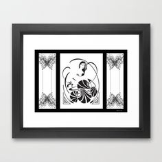 Simple Elegance 2 Framed Art Print by David Lee Graphic Artist - $40.00
