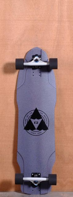 "Globe 37"" The Maiden Longboard Complete - Black Metal"