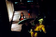 Alex Webb - USA. Brooklyn, New York. October 31, 1999. Halloween.