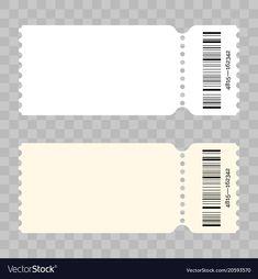 Ticket Blank Modern White Template throughout Blank Admission Ticket Template Concert Ticket Template, Ticket Template Free, Concert Ticket Gift, Movie Tickets, Train Tickets, Ticket Cinema, Admit One Ticket, Ticket Design, Admission Ticket