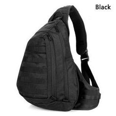New 2016 Chest Sling backpack Men's bags One Single Shoulder Man Large Travel Military Backpacks Molle Bags