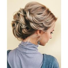 60 Updos for Thin Hair That Score Maximum Style Point ❤ liked on Polyvore featuring beauty products, haircare, hair styling tools, hair, hairstyles and curly hair care