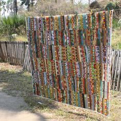 quilt from african fabrics