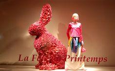 #rabbit #printemps haussmann #spring
