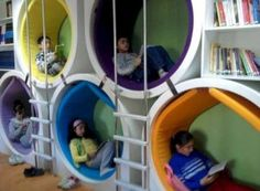 Things to Consider before Making Kids Playground Design - Kindergarten innenraum Things to Consider before Making Kids Playground Design Salas de aula Play Spaces, Learning Spaces, Kid Spaces, Playground Design, Backyard Playground, Children Playground, Design Maternelle, Kindergarten Design, Kids Cafe