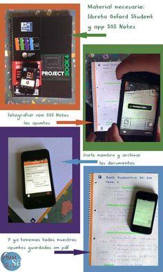 Tus apuntes en tu móvil con SOS Notes de Oxford   Crisnasa Blog. Niños y tecnología