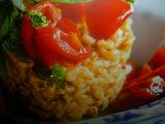 orzo perlato ricette - tortino al tofu