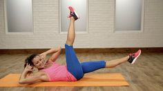 The Flutter Kick Ab Exercise Is Your Flat-Belly BFF: Take your ab workout to the next level with this Pilates ab series!