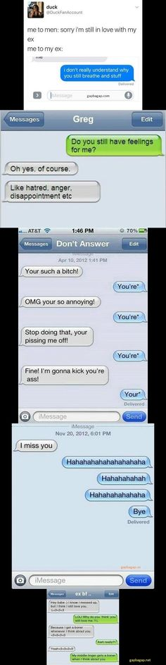 Top 5 #Hilarious Text Messages About Exes