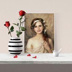 Affiche Emma Watson - Photoshop & Albert Lynch - Format A3