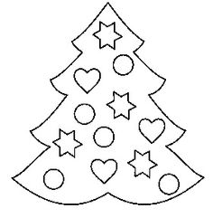 Images For Christmas Tree With Presents Coloring Pages Pins For