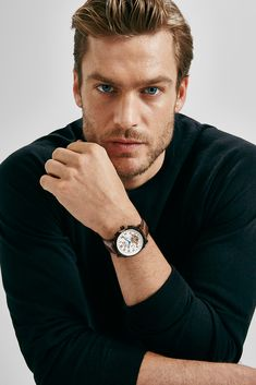 Jason Morgan for Massimo Dutti - NYC Limited Collection - watch