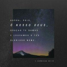 1 Crônicas 29:13