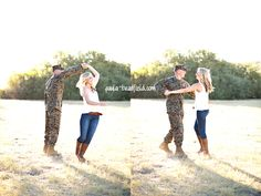 Stacie make Jeff dance! I could see him being silly in pics like this!!! :)
