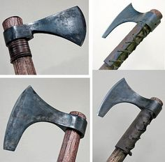 Modified Cold Steel Hawks & Axes