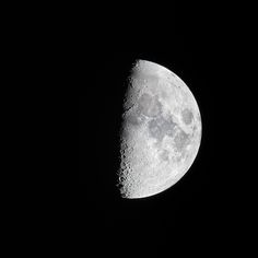 The Moon Tonight April Just so staggeringly sharp tonight. The Moon Tonight, Moon Pictures, Canon Lens, Black N White, Celestial, Photography, Photograph, Black White, Fotografie