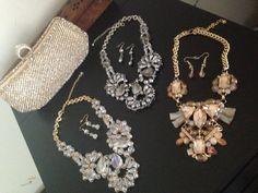 Collane Faddy Jewels! Interamente fatte a mano con cristalli swarovsky! Completi di orecchini! Solo per oggi 16€ il completo!
