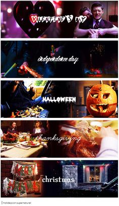 Supernatural + holidays