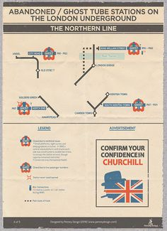 Abandoned/Ghost Tube Stations on the London Underground - The Northern Line. Confirm Your Confidence In Churchill