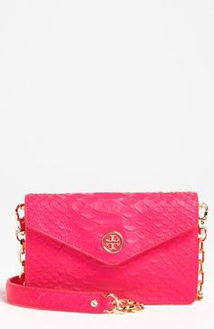 Tory Burch 'Neon Snake' Crossbody Bag available at #Nordstrom