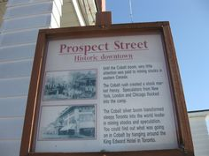 This article is a great resource for travel to Cobalt, Ontario, Haileybury and Lake Temiskaming, a former silver mining area in northern Ontario. Prospect Street, World Leaders, Cobalt, Ontario, Toronto, To Go, Canada, London, Places