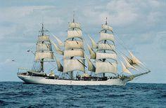 Danmark by HannaJoy,  sailingship #tallship #ship #sailingship #sails