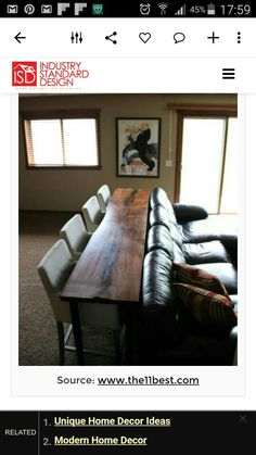 Good idea.  Like a long narrow table between a couch and wall.