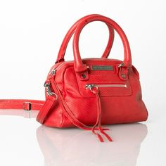 Jacki easlick red African cobra mini satchel Jacki easlick red African cobra mini satchel. Leather made from imported cowhide. Detachable strap. Purchased from ebags for $400. New and unused plastic still on strap. Such a gorgeous quality handbag Bags Satchels
