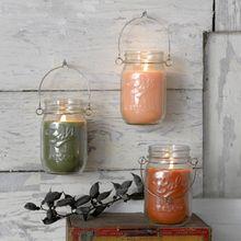 Mason Jar Candles W/Hanger - 12oz