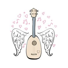 hand-drawn-vector-illustration-ukulele-sketch-wings-hearts-melody-different-lines-89186355.jpg (800×800)