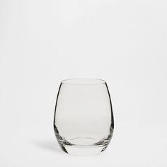 Glass Balloon Tumbler (Set of 3) - Glasses - Glassware - Tableware   Zara Home Costa Rica