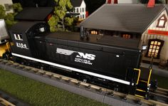 Find It Locally RailKIng Norfolk Southern SW9 http://mthtrains.com/30-20285-1 Passing by the station this morning the just arrived MTH RailKIng SW9 Switcher. The SW9 was featured in the 2015 Volume 1 RailKing & Premier O Gauge Trains Catalog in BNSF 30-20283-1, CSX 30-20284-1, Norfolk Southern 30-20285-1, and CP Rail 30-20286-1. The RailKIng SW9 operates on O-27 Curves and these 2015 models have a MSRP of $319.95. Ask your MTH Dealer about getting a RailKing SW9 today.