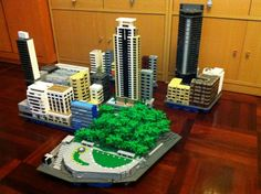"""Tsim Sha Tsui is the heart of the """"Pearl of the Orient"""" Hong Kong. A simulated reality of the city center, now WIP........ It's a little part of the whole model."""