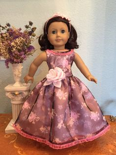 BIG FLOWER DRESS by SmallWorldCouture on Etsy