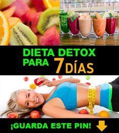 recetas de jugos detox para 7 días
