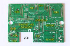 OpenKontrol Gateway - XRF, XBT, X232, XBee, XV, RFM12b, NRF24L01, Ethernet (via ENC28J60), Ethernet (Via Wiznet W5200), SD card, DS1307 RTC, 23K256 SRAM.