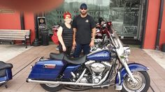 We would like to welcome Mathew and Brandy to the Orlando Harley-Davidson® family. Enjoy your 2006 FLHRI Road King! #orlandoharley http://orlandoharley.com/UsedBikes.aspx