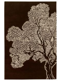 @Paige Schildkamp thought you might like this. Tree Hand-Tufted Rug - Gilt Home by thomaspaul rugs