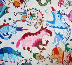 Textile work (85x95sm.) Styky bryky on Behance