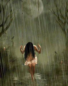 A menina  balanço na chuva  http://s936.photobucket.com/user/carmenmbonilla/library/animated%20images%20-%20animated%20rain