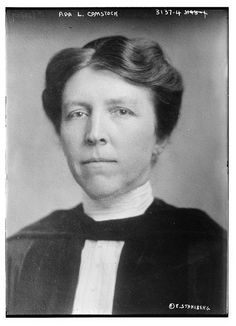 Ada Comstock   (December 11, 1876-December 12, 1973) was an American women's education pioneer. She served as the first dean of women at the University of Minnesota and later as the first full-time president of Radcliffe College.