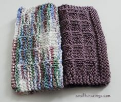 I love knitting dishcloths, but I know a lot of knitters think it s silly. Why do I like them? Well, they re an almost instant gratification project and it s practical to boot. They re thick, durable and make doing dishes even prettier. Besides, I love making groups of these and tucking them into homemade bath and body or kitchen themed gift baskets.
