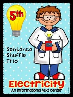 Sentence Shuffle Trio -  ELECTRICITY - Inform. Text, Fluen