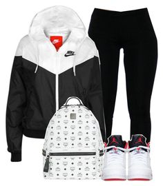 """""""Untitled #160"""" by uniquee-beauty ❤ liked on Polyvore featuring NIKE, MCM and Retrò"""
