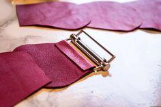 Tutoriel ceinture en cuir | Site DIY et couture